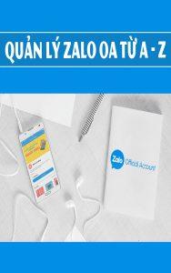 Quản lý Zalo OA từ A đến Z.